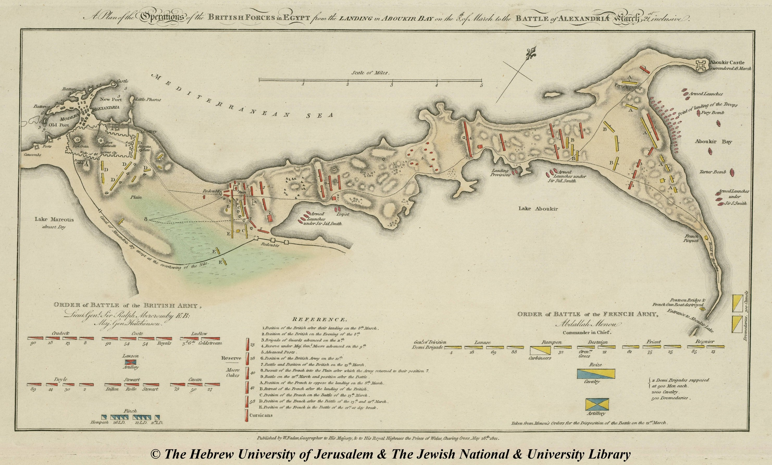 Map Of Alexandria William Faden - Map of egypt high resolution