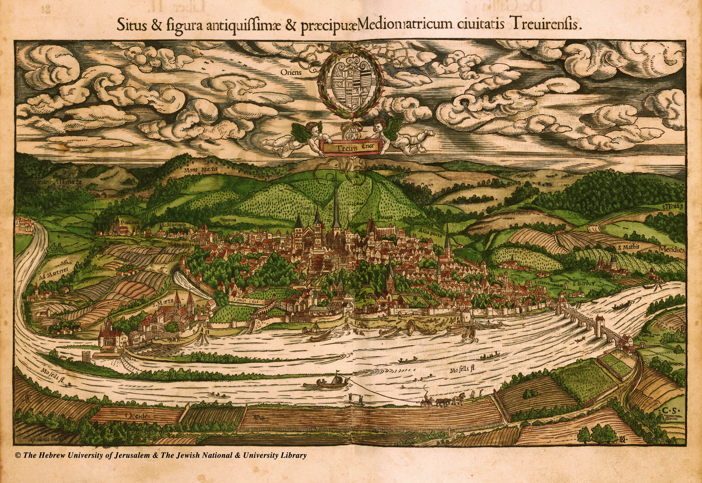 Lots Of Ancient City Maps - Germany map munster