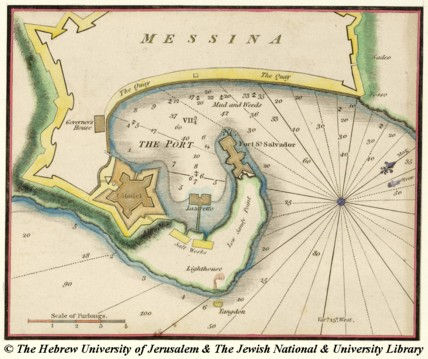 Map of Messina Heather William 1810
