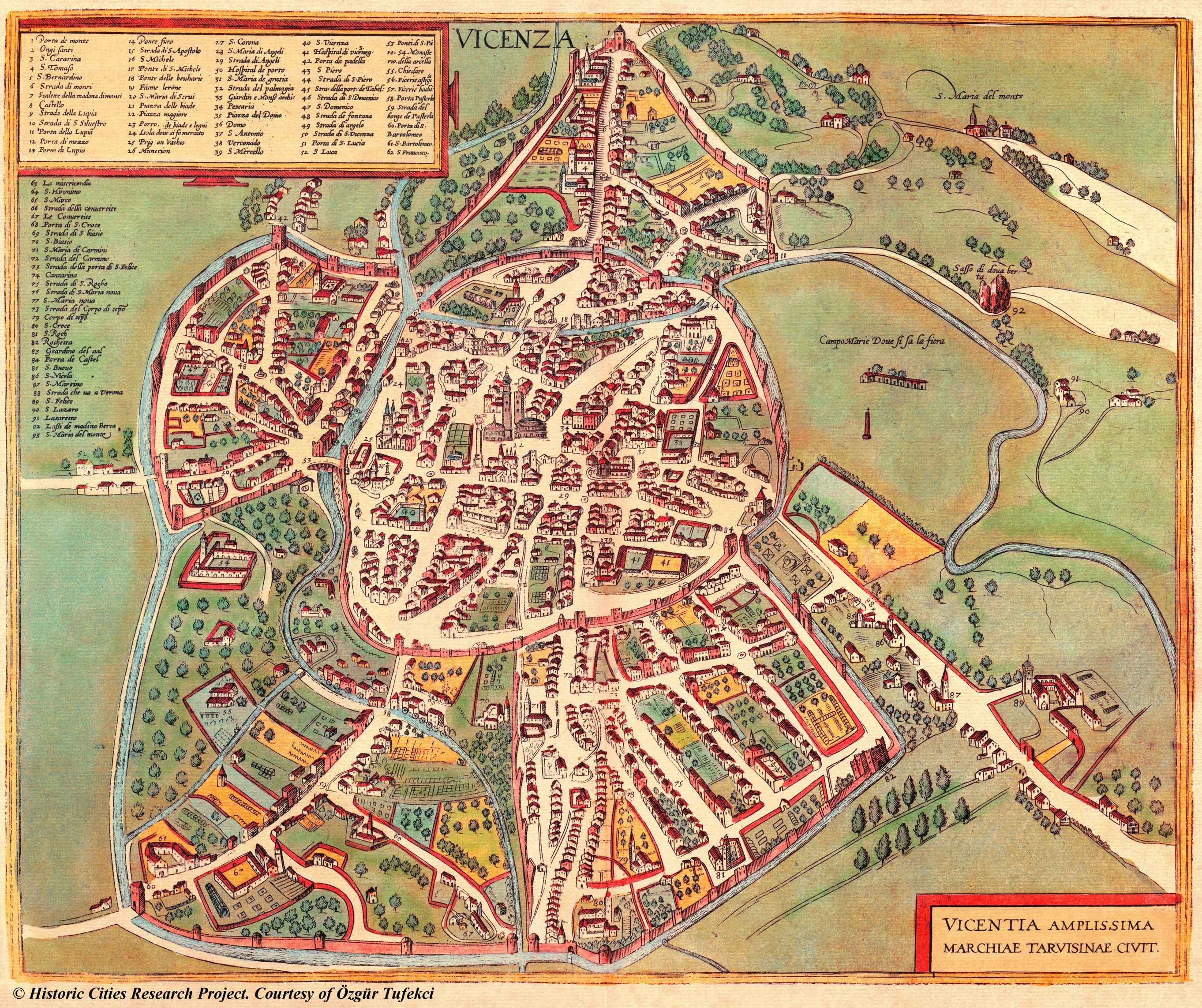 Vicenza Italy  city pictures gallery : 1000 images about Vintage Maps, Italy on Pinterest | Old maps, Map of ...